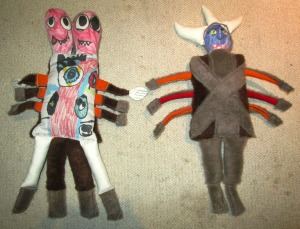 Kids Drawings Made into Stuffed Toys